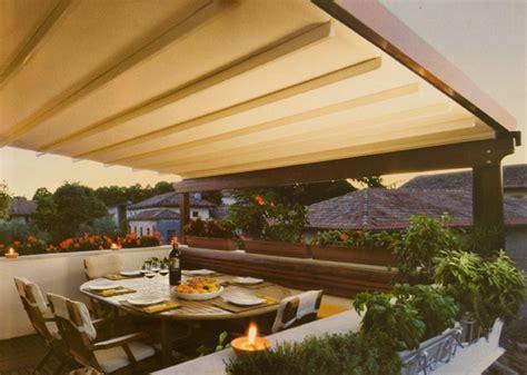 come coprire un terrazzo copertura per il terrazzo