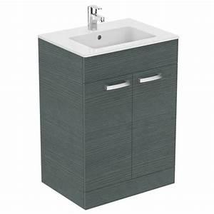 meuble bas salle de bain 60 cm With meuble salle de bain 60 cm de large