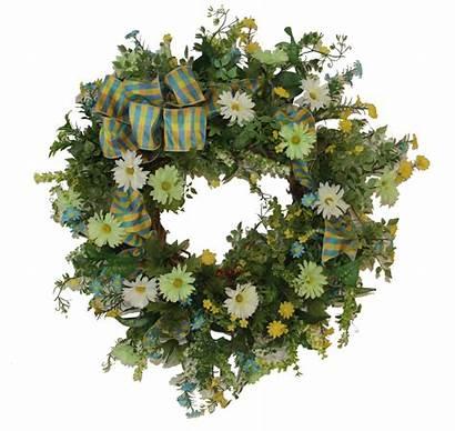 Wreaths Door Silk Spring Flower Floral Wildflowers