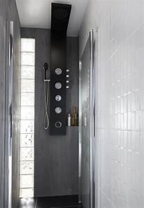 Douche Petit Espace : grande douche dans un petit espace leroy merlin ~ Voncanada.com Idées de Décoration