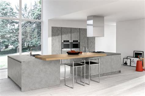 cuisine design italienne avec ilot voir photo decoration cuisine