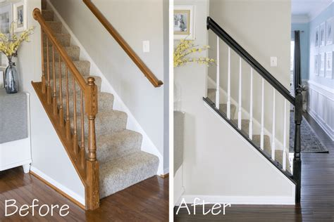 Painting Banisters by How To Paint A Stairwell That Lasts