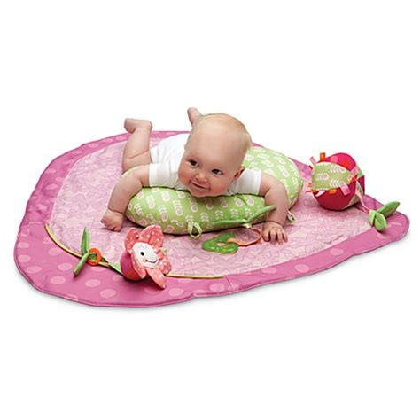 best tummy time mat boppy 174 tummy time play mat in dot buybuy baby