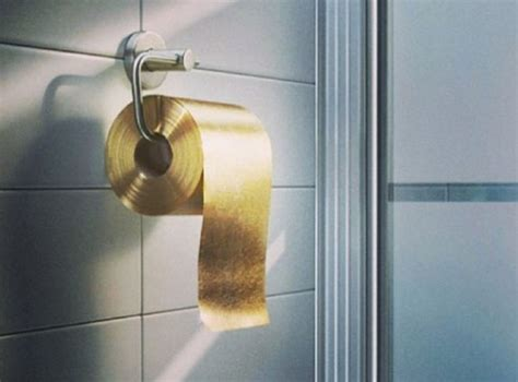 le papier toilette en or 224 1 million de dollars