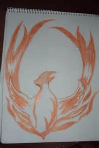 Phoenix Rising Drawing