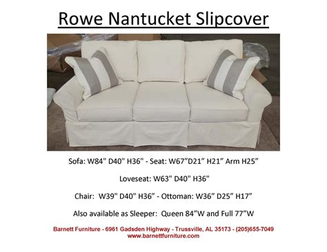 Rowe Nantucket Sofa Dimensions by Barnett Furniture Average Size Sofa 84 Quot 89 Quot
