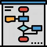 Flow Icon Process Chart Icons Hippa Icap