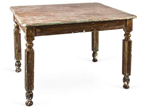 rustic table l vintage rustic farm dining table from