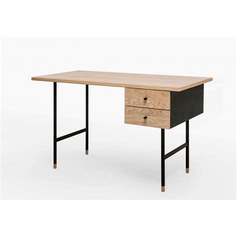 bureau bois et metal bureau design bois et m 233 tal jugend by drawer
