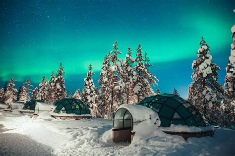 Northern Lights Igloo by See The Northern Lights From A Glass Igloo At