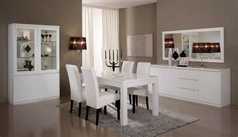 salle a manger laque blanc salle a manger complete roma laque blanc laque blanc