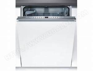 Lave Vaisselle Integrable Bosch : bosch smv63n10eu lave vaisselle tout integrable 60 cm ~ Melissatoandfro.com Idées de Décoration
