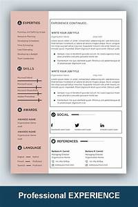 Cv Cover Letter Template Word Resume Template Professional Microsoft Word Creative