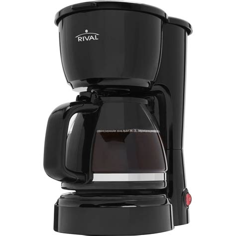 Just set it up, turn it on and brew. Rival 5 Cup Coffee Maker - Walmart.com - Walmart.com