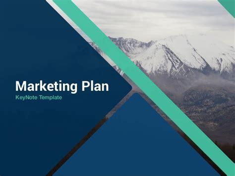 template marketing plan keynote