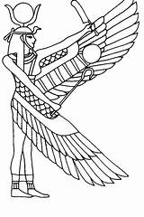 Coloring Pages Egyptian Mummy Ancient Printable Egypt Getdrawings sketch template