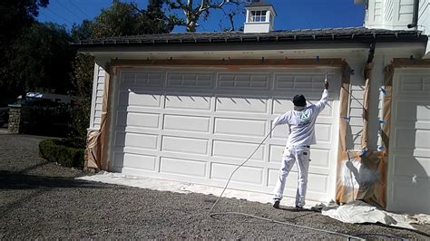 How To Properly Spray Paint A Garage Door. Used Cherry Bedroom Furniture 3 Suites Vegas Bamboo Small Boys Coral Decorating Ideas Queen Sets Houston Train Themed Drapery