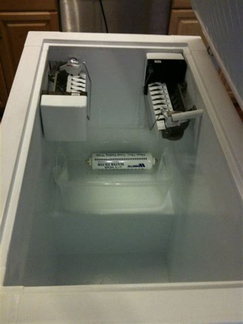 chest freezer ice maker  ideas  hull truth