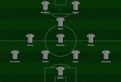 Panchina Juventus by Le Formazioni Ufficiali Di Juventus Roma Dybala E Salah