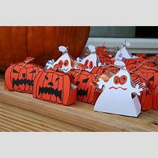 Mitgebselboxen Für Halloween Basteln Youtube