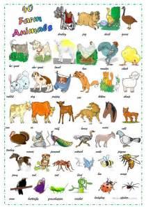 animaux de la ferme farm animals  teacherfr