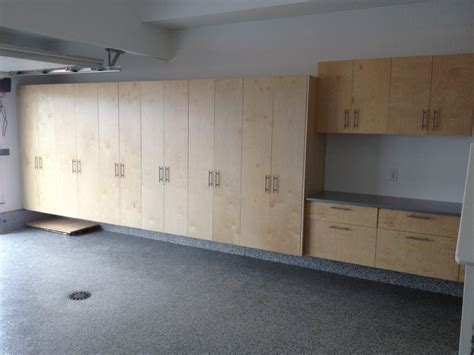 building plywood cabinets for garage garage cabinet installs modern garage and shed