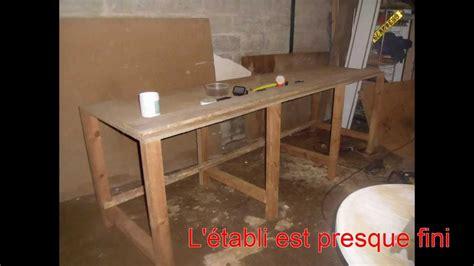 fabrication d un bureau en bois fabriquer un treteau en bois maison design bahbe com