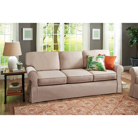 Sofa Bed Slipcovers Walmart Canada by Sofa Modern Look With A Low Profile Style With Walmart