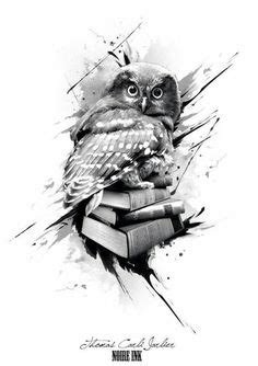 polka trash art tattoo owl - Google претрага | Owls
