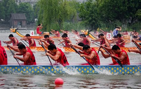 Dragon Boat Racing Companies by The Dragon Boat Festival Holiday Notice Company News