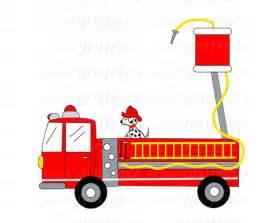 Firefighter Fire Truck Clip Art