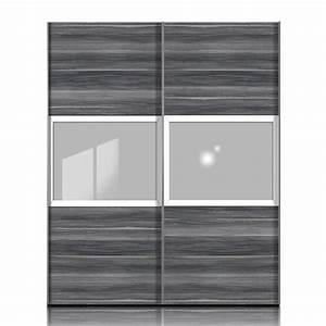 Schwebetürenschrank Weiß Grau : schwebet renschrank trio h213 nussbaum grau wei schrankbreite 152 cm ~ Markanthonyermac.com Haus und Dekorationen