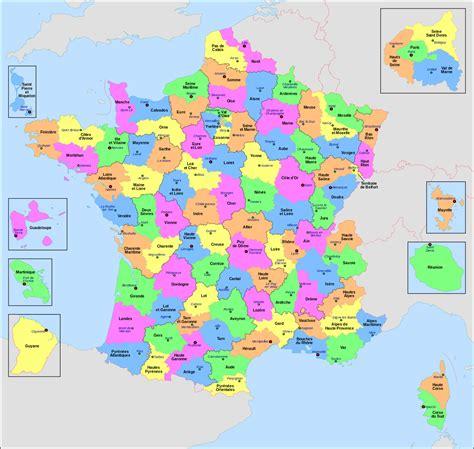 Carte Département Ville by Cartes Des Villes Et Quiz Cartes De