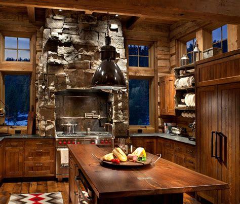 marque cuisine luxe la cuisine rustique contemporaine au centre des résidences