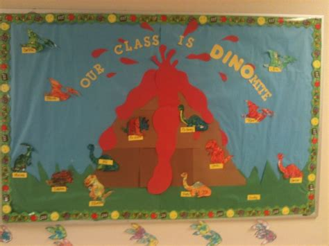 Preschool Dinosaur Bulletin Board Ideas