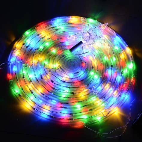 6 color changing led spiral tree lights outdoor indoor