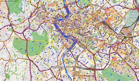 rom stadtteile karte goudenelftal
