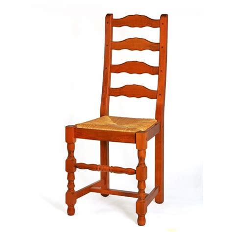 chaise bois et paille chaise de salle à manger en bois et paille positano