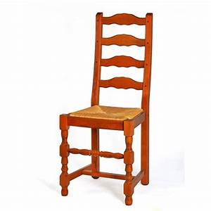 Chaise de salle a manger en bois et paille positano for Meuble salle À manger avec chaise paille