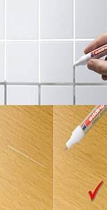 Joint Pour Carrelage : un stylo peinture pour joints carrelage et rayures sur le bois ~ Melissatoandfro.com Idées de Décoration