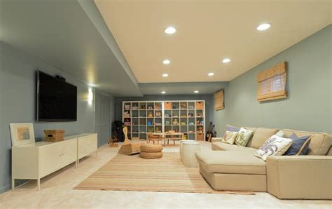 26 charming and bright finished basement designs