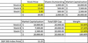 How is a stock market index calculated?