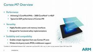 Arm Announces Faster Cortex-m Core For Embedded Apps
