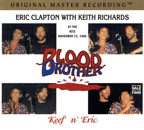 eric clapton feat keith richards blood brothers