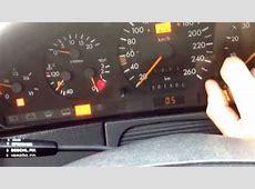 W140 test dashboard YouTube