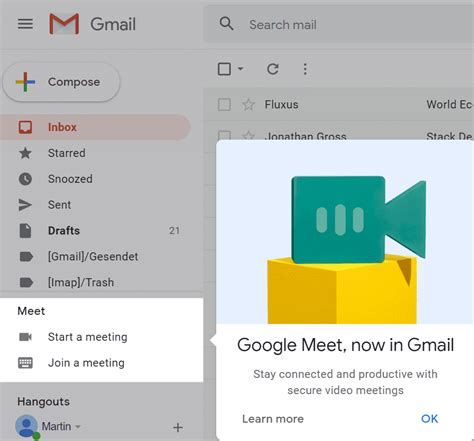 How To Hide Google Meet On Gmail's Web Interface ...