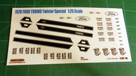 ford torino twister special  scale