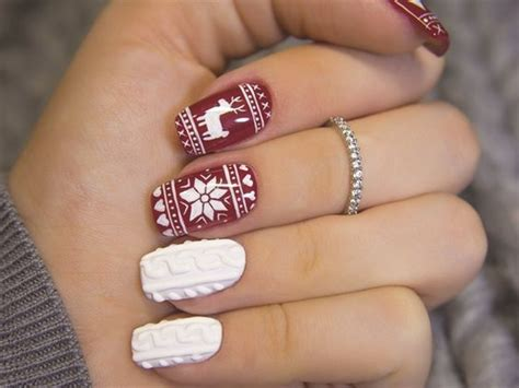 I am not great at manicure stuff by any means, but the polish goes on so evenly, lasts well, and looks so good that my friends think that i go to a. Christmas Nail Designs For The New Year 2020 • stylish f9