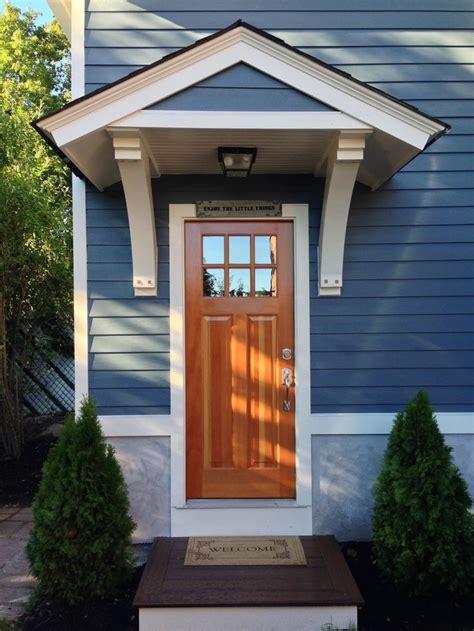 custom structural brackets small roof overhang porch design front porch design garage