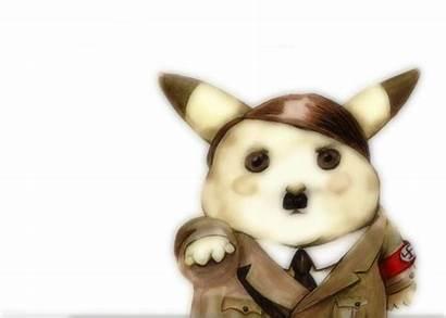 Nazi Hitler Pikachu Pokemon Anime Adolf Wallpapers
